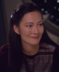 i based my female lead's looks on Keiko O'Beian from Star Trek TNG. i
